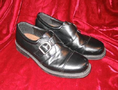Mens Kids Chancellors Black Dress Shoes Loafers 4