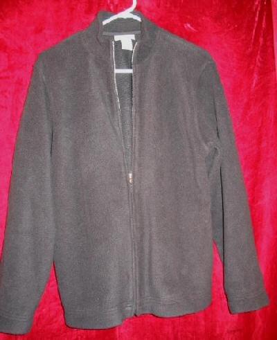 Womens Courtney & Co Fleece Jacket Sweater M