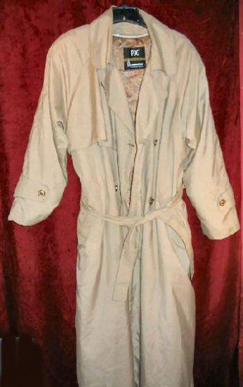 Womens London Fog Thinsulate Trench Coat Raincoat 12