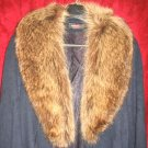 Womens Forstmann Alorna Fur Coat Wool Jacket Mink Sz 10