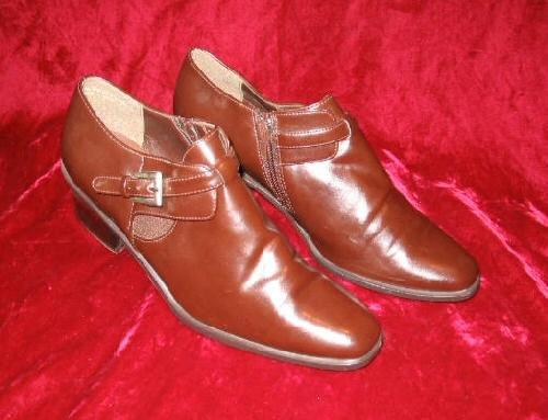Kathie Lee Brown Boots Work Shoes 8 M Pointy