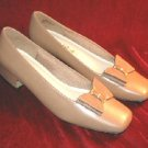 New Life Stride Square Toe Heels Pumps Shoes 9.5 Taupe