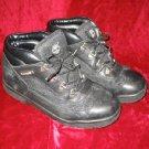 Timberland Kids Junior Field Black Boots Shoes 6 M