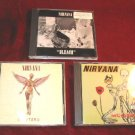 Nirvana Incesticide Bleach In Utero 3 CD