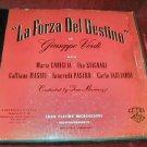 Verdi La Forza Del Destino 2 Vinyl LP Boxset Italy