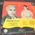 Puccini Manon Lescaut Grieux London 3 Vinyl LP Boxset LLA-28