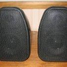 2 Techwood S8R Rear Surround Speakers Black Stereo