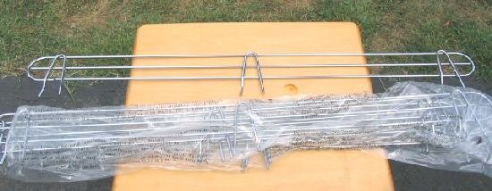 "6 Chrome Wire Rack Shelving Shelf Storage Side edge 48"""""