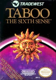 Nintendo Classic NES Game Taboo The Sixth Sense