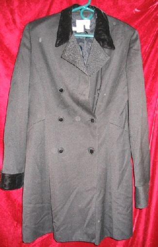 Womens Jeselle Wool Black Business Suit Jacket Coat 12