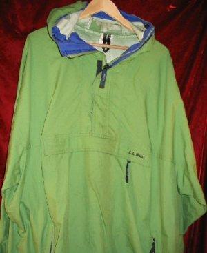 Nice LL Bean Pullover Windbreaker Jacket Shirt 2XL