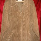 Nice Levis Strauss Brown Jacket Winter Coat 3/4 Length L