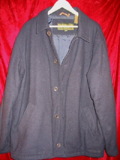 Timberland WeatherGear Wool Pea Coat Winter Jacket L
