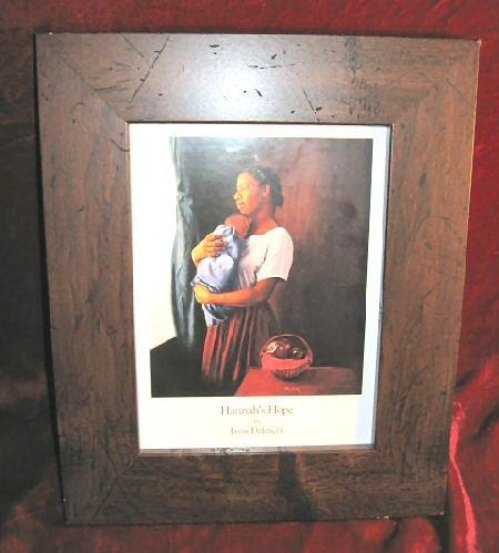 Jason Delancey Hannah's Hope Framed African American Art Print