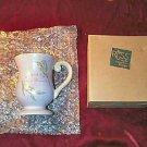 "NIB RUSS Stoneware Mug ""Believe"""