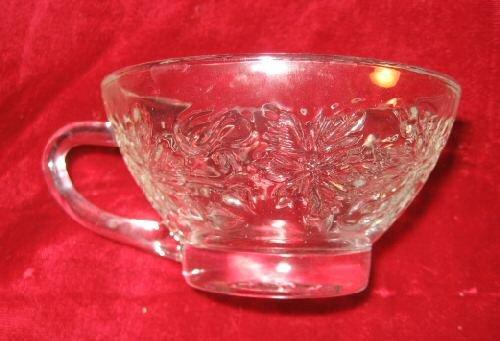 "MINT Princess House Fantasia 4"" Glass Tea Cup"