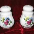 Staffordshire Bone China England Salt & Pepper Shakers