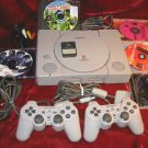 Sony PlayStation Console Controller 7 Games Memory Card