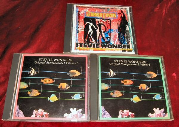 Stevie Wonders Original Musiquarium I, Vol I & II Bonus