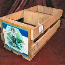NEW BARE FOOT BOY barefoot boy wooden box crate Barefoot