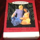 Hallmark Ornament Pocahontas and Captain John Smith QXI6197