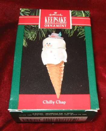 1991 Hallmark Keepsake Ornament Chilly Chap QX533-9