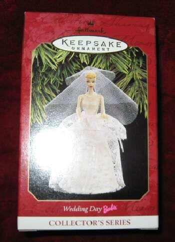 1997 Hallmark Ornament #4 Wedding Day Barbie QXI6812