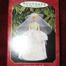 1997 Hallmark Ornament #4 Wedding Day Barbie QXI6812