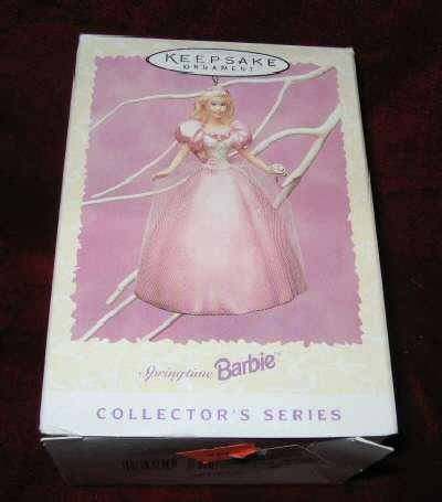 Hallmark Easter Springtime Barbie #2 Ornament QEO8081