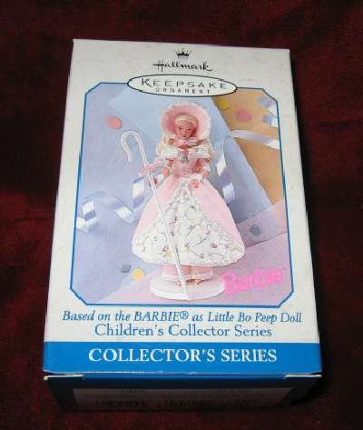 1998 Little Bo Peep Doll Barbie #2 Ornament QEO8373