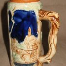 Vintage JAPAN Pioneer Ceramic Mini German Style Beer Stein Mug Cup