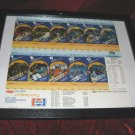 1981 San Diego Chargers 11 Full Season Tickets Framed