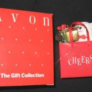 AVON Holiday Shopping Bag Teddy Bear Ornament Cheers