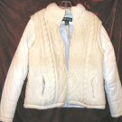 Lady's Womens Voice White Winter Jacket Coat M