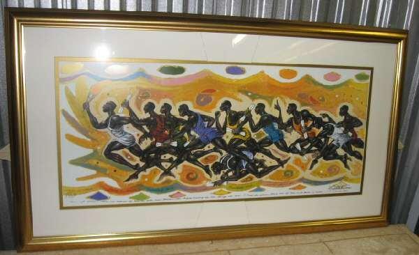 Roederick Vines Men on Mission Framed Art Print Limited