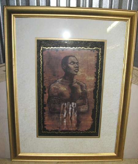 "Monica Stewart Soul Mate I Art Print Framed 18""x24"""