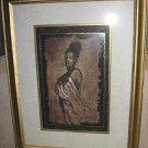 "Monica Stewart Soul Mate II Art Print Framed 18""x24"""