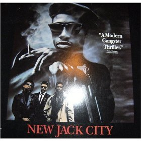 New Jack City Laserdisc LD Wesley Snipes Ice T MINT