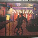 Frank Walcutt Night Dance Painting Canvas Signed Framed