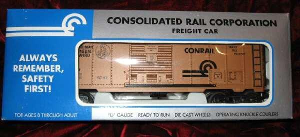K-Line K641-1411 IC Conrail Harriman Memorial Freight Car Train