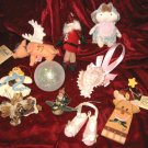10 Christmas Ornament Boyds Bear Crazy Mountain