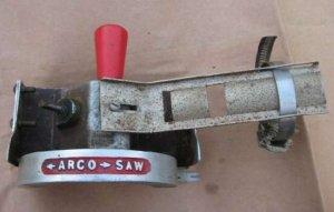 Vintage Arco Circular Saw Depth Level Rip Cauage