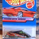 1998 Hot Wheels Techno Bits Series Shadow Jet II #689 Diecast Car