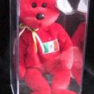 Ty Beanie Babies 1999 Osito the Mexician Bear Case