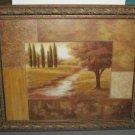 Vivian Flasch 20x24 Carved Wooden FRAMED Art Print