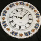 St. Louis Fine Bone China Kienzle Quartz Plate Clock England