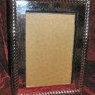 Martha Stewart Silver Picture Frame Velvet Back 4x6