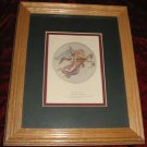 Morning Angel Engraving Art Print Framed Roffe Thorwaldsen