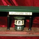 Dept 56 Dickens Village Victoria Station Train Platform 55751 1989