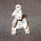 Boyds Bear Sterling Silver Humbolt Humboldt Necklace